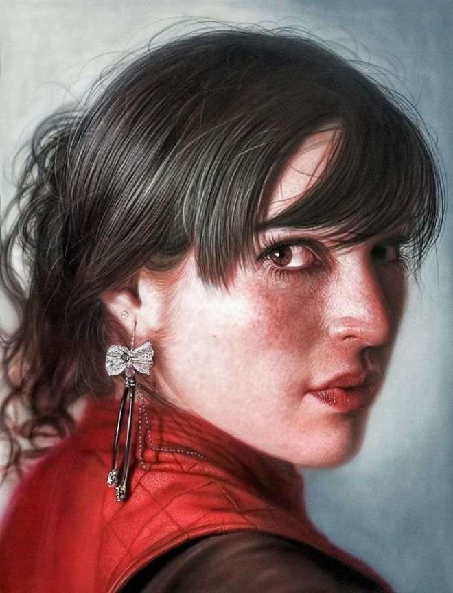 Fantastic Realistic Human Paintings By Kamalky Laureano