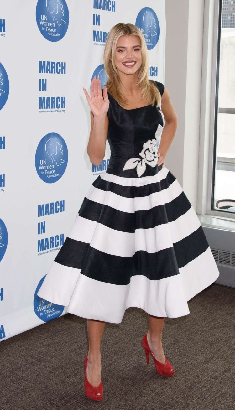 Annalynne McCord Attends UN Women For Peace Luncheon