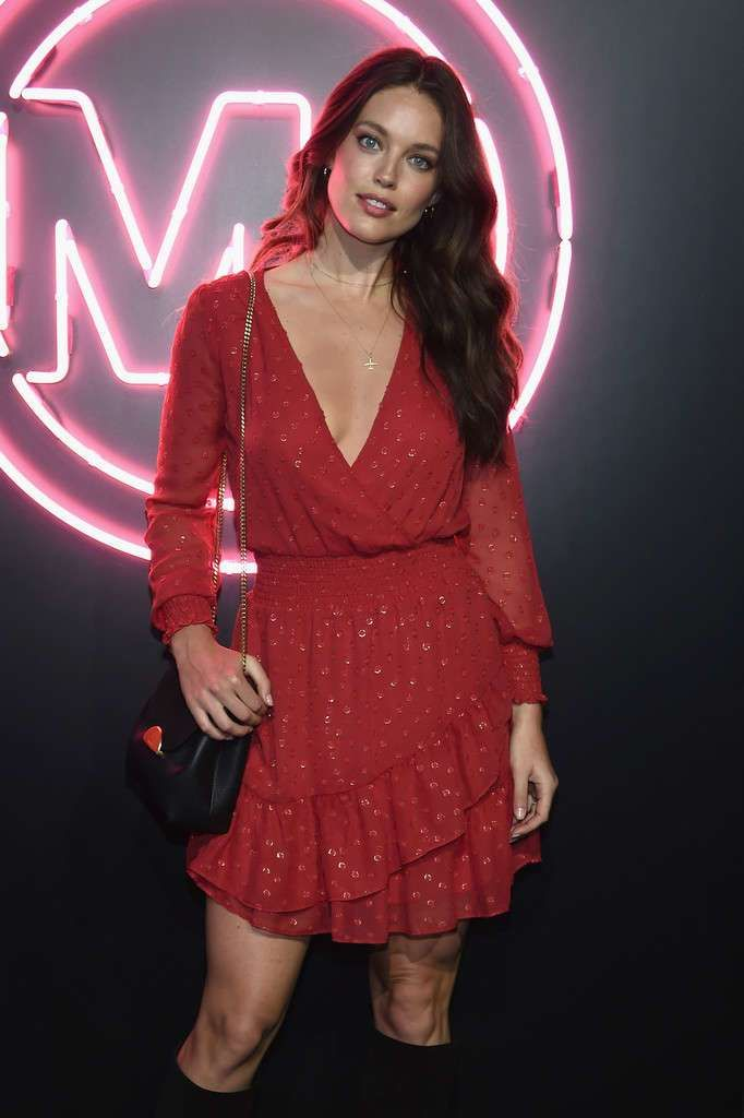 Emily DiDonato Attended The Jump Into Spring: Michael Kors Spring 2019 Launch Party