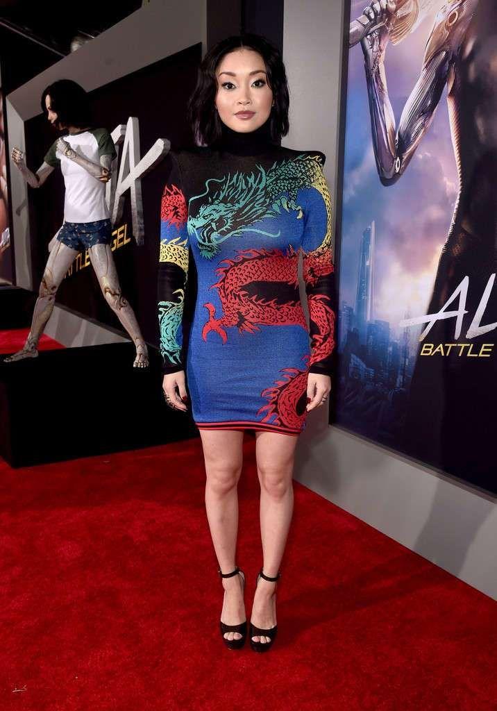 Beautiful Lana Condor At The 'Alita: Battle Angel' Premiere In LA