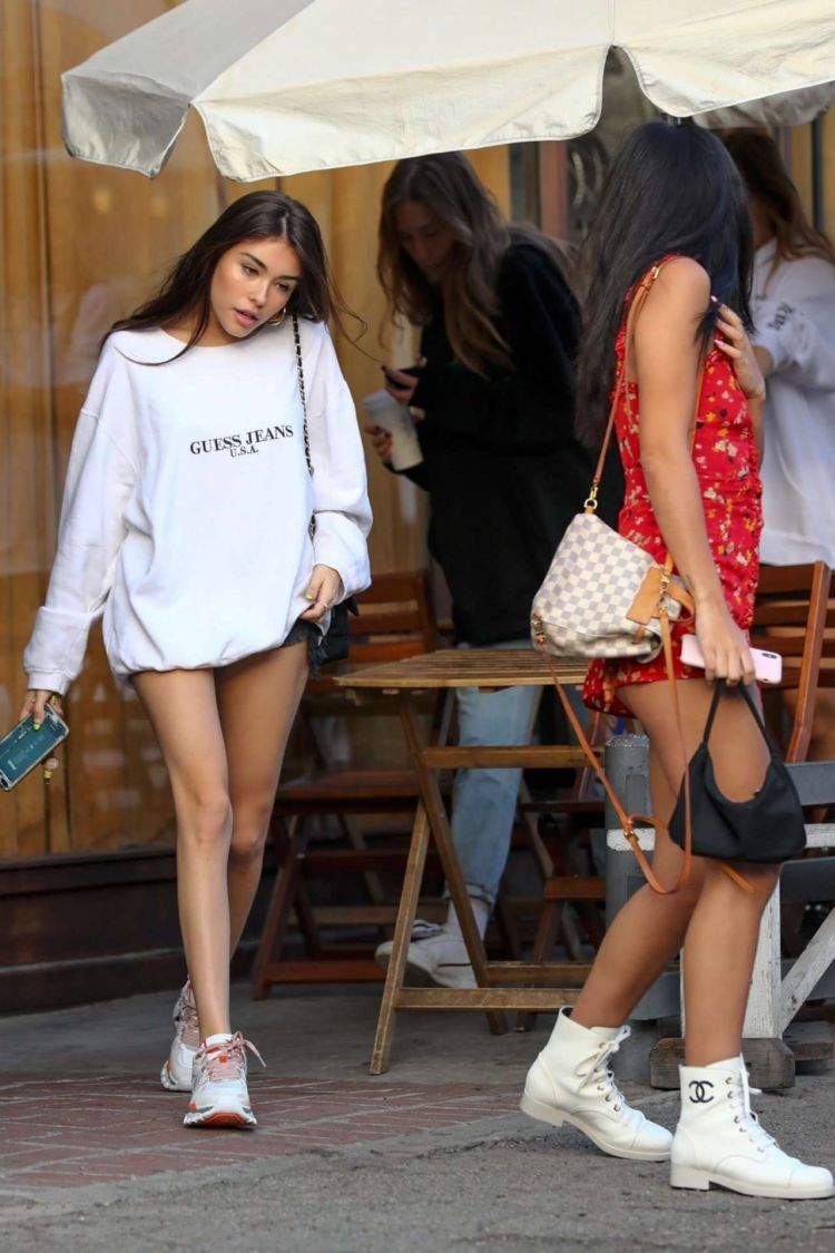 Madison Beer Out With Friends In West Hollywood