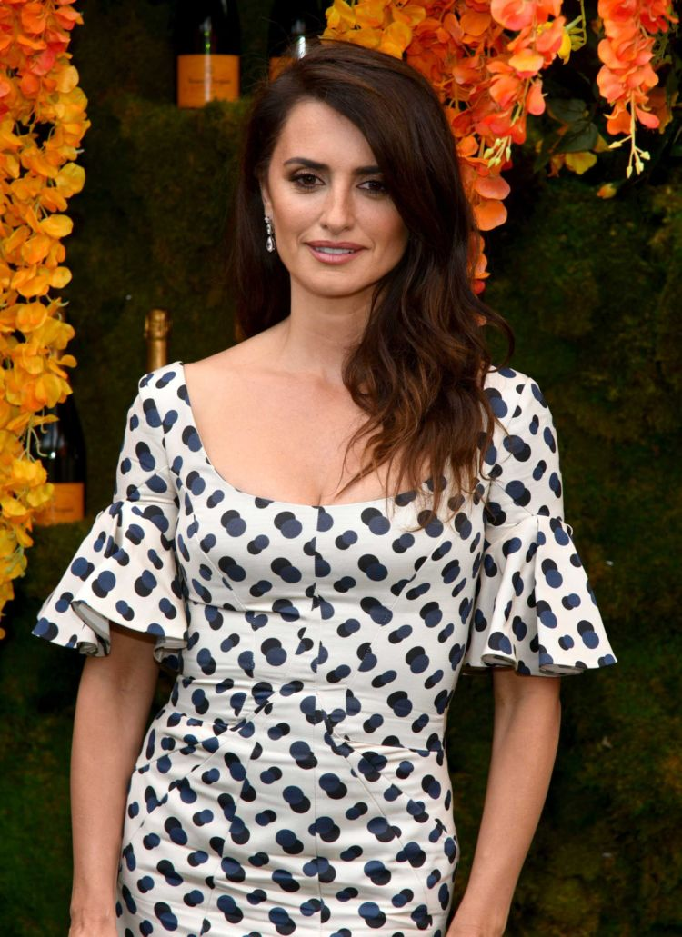 Gorgeous Penelope Cruz Attends 11th Annual Veuve Clicquot Polo Classic Event