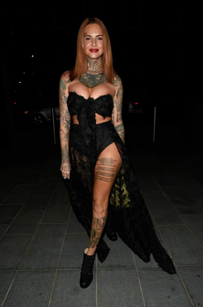 Tattooed Jemma Lucy Arrives At 20 Stories In Manchester
