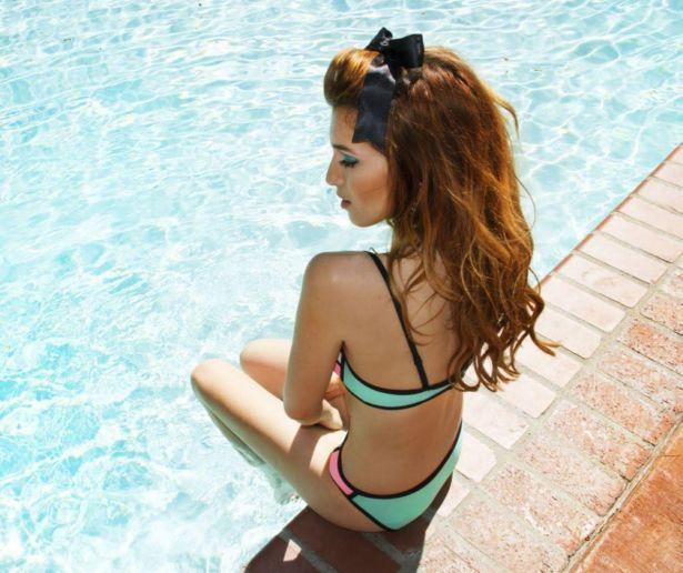 Dani Thorne For Triangle Swimwear Photoshoot